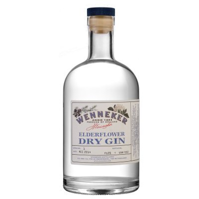 Gin Elderflower Dry 70Cl Wenneker